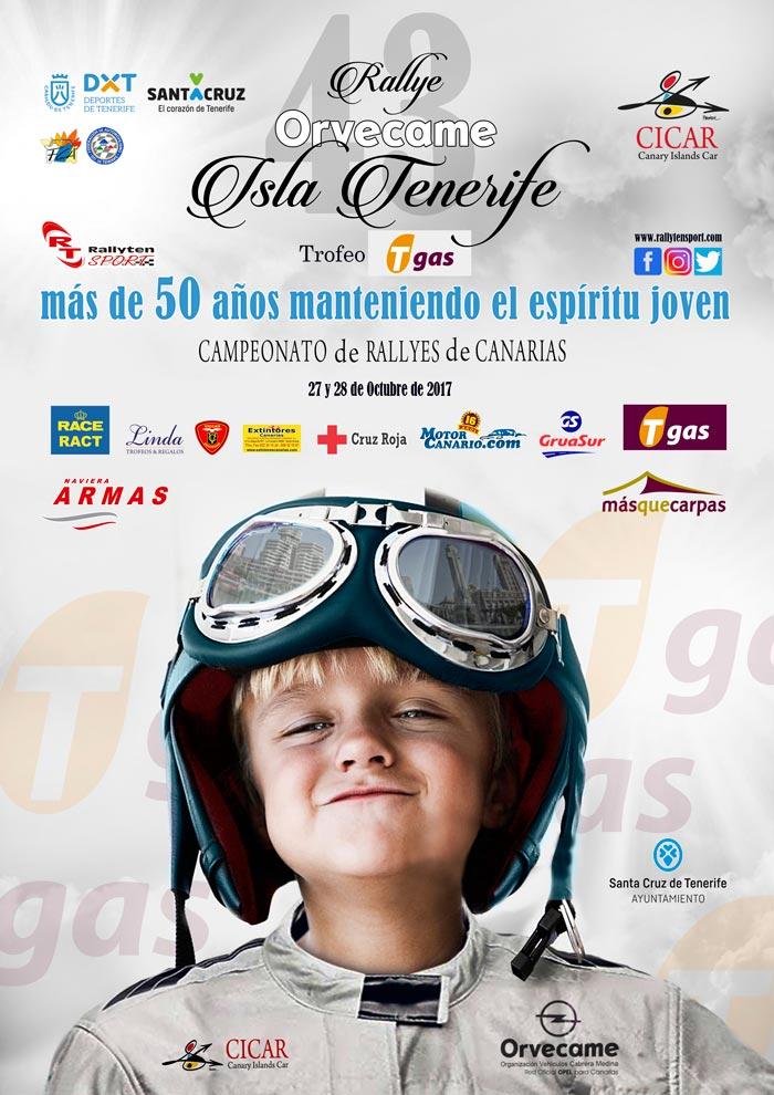 Cicar - Patrocinador del 43 Rallye Orvecame Isla de Tenerife
