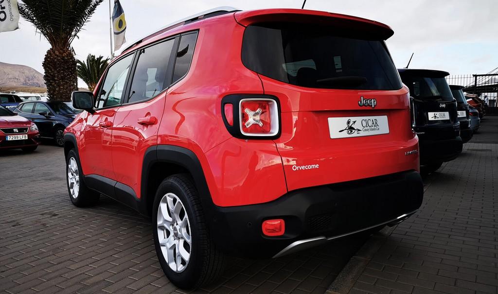 Varias unidades de Jeep Renegade 1,4 Mair 140 Long 4x2 ddct Auto en Fuerteventura
