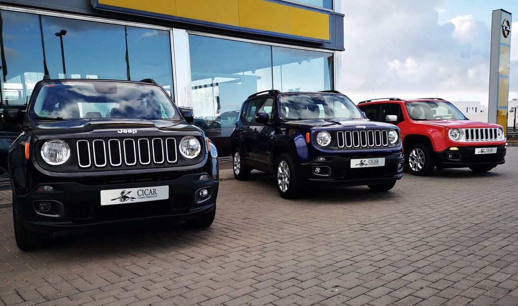 Varias unidades de Jeep Renegade 1,4 Mair 140 Long 4x2 ddct Auto en Tenerife