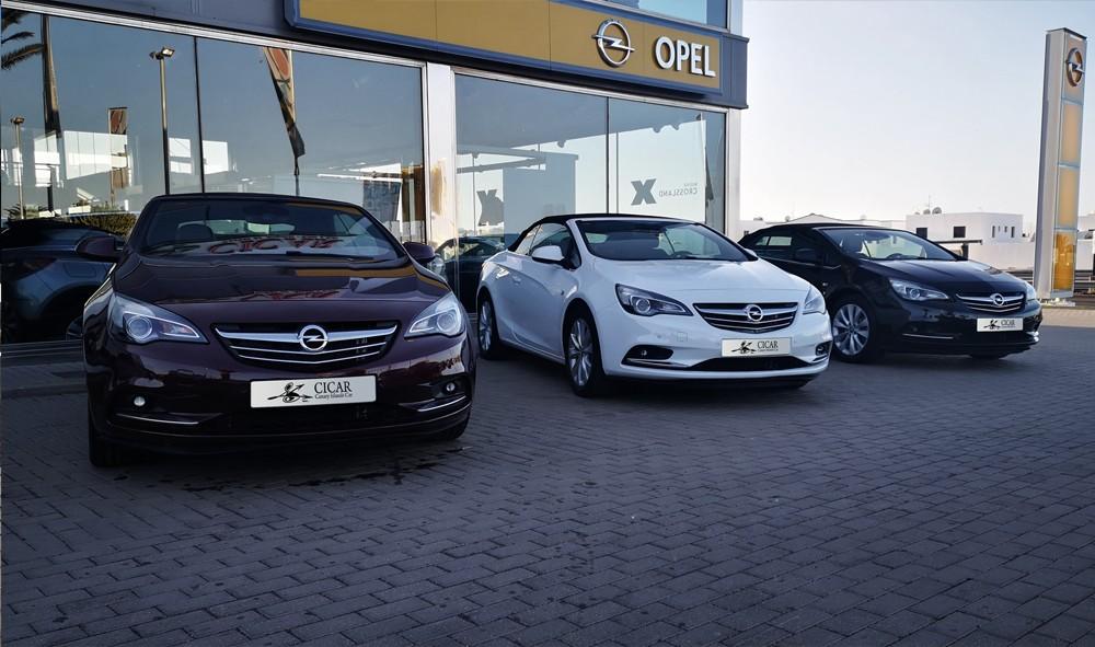Varias unidades de Opel Cabrio Cabrio Excel 1.4 T 140cv S/S en Tenerife