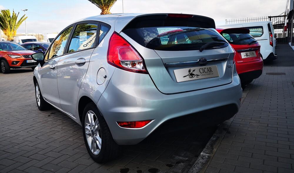 Varias unidades de Ford Fiesta Mca 5d Trend 1.25 82cv en Lanzarote