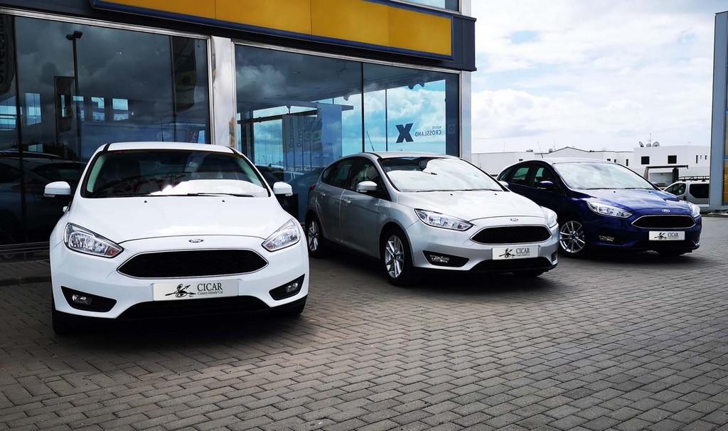 Varias unidades de Ford Focus Mca Trend+5d 1.0eboost A en Lanzarote