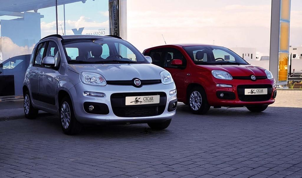 Varias unidades de Fiat Panda Lounge 1.2 69Cv en Lanzarote