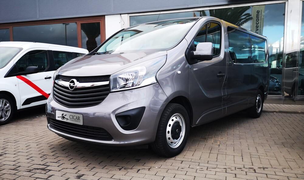 Varias unidades de Opel Vivaro Combi 1.6 Cdti  ss 125cv M6 en Tenerife incorporado el 20/06/2020