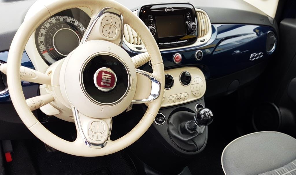 Última unidad de Fiat 500 0.9 Twinair 105 Cv Lounge en La Palma