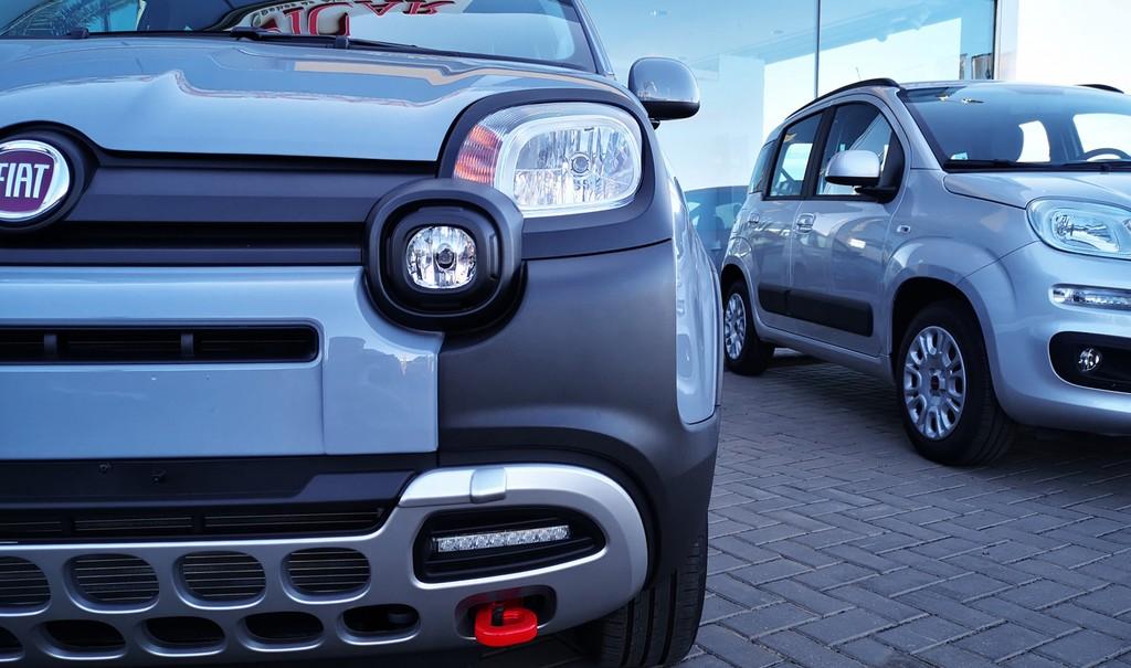 Varias unidades de Fiat Panda City Cross 4x2 1.2 69cv en Lanzarote