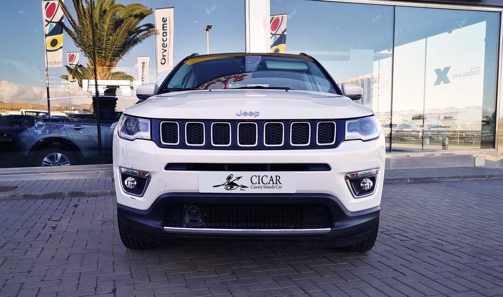 Última unidad de Jeep Compass Limit 2.0 140 4x4 auto en Lanzarote