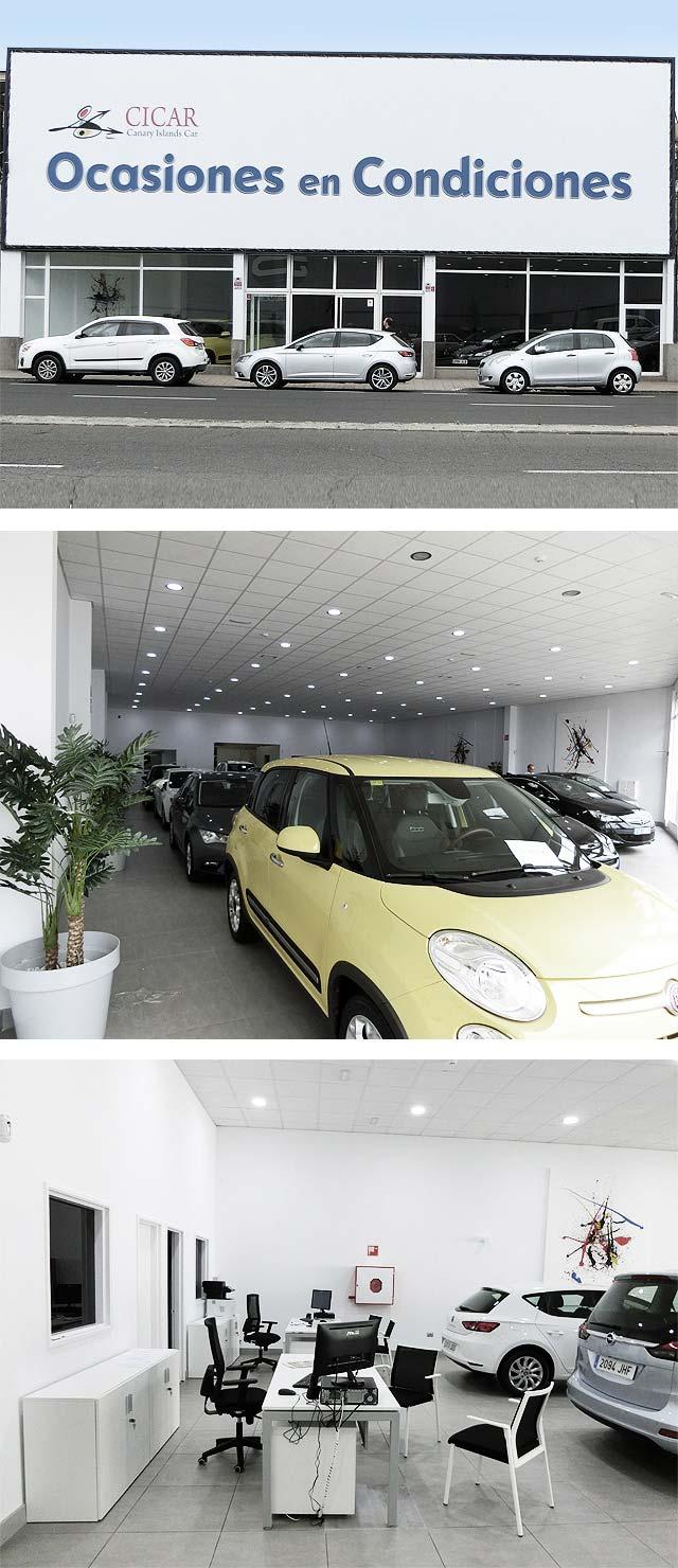 352585408 CICAR (empresa del Grupo) inaugura una nueva exposición de venta de coches  de ocasión, situada en la zona de El Sebadal, en Las Palmas de Gran Canaria.